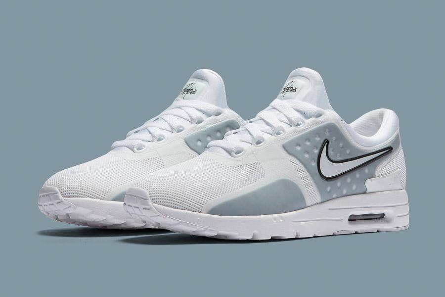 Nike Air Max Zero — bílé (white) — dámské tenisky — sneakers — boty