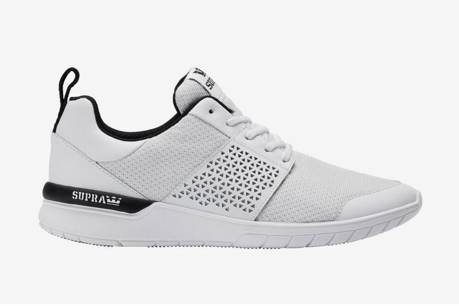 Supra Scissor — boty — tenisky — sneakers — pánské, dámské — bílé