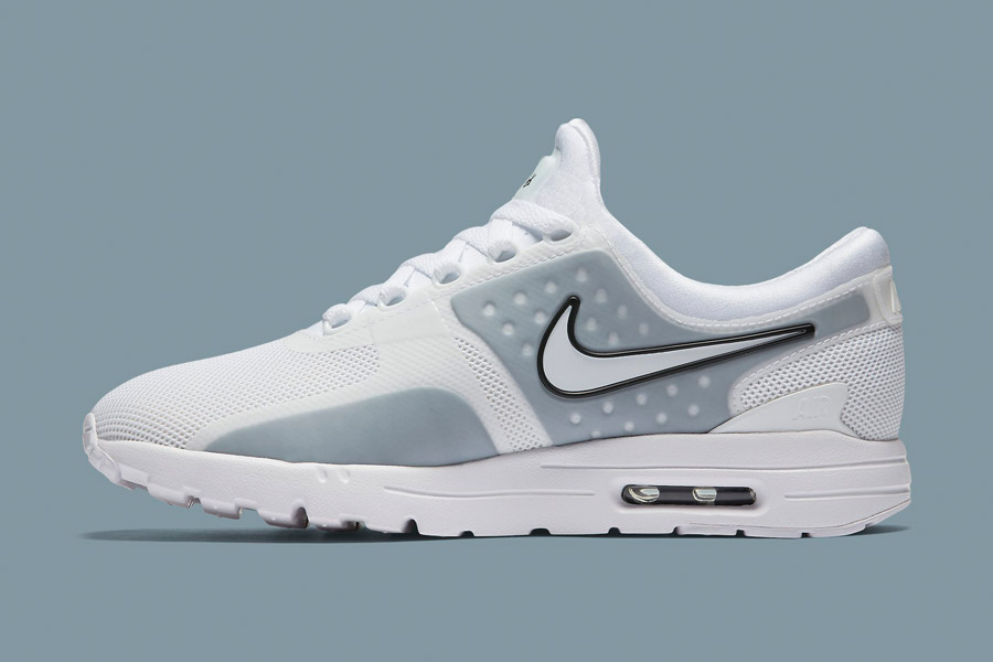 Nike Air Max Zero — bílé (white) — dámské tenisky — boty — sneakers