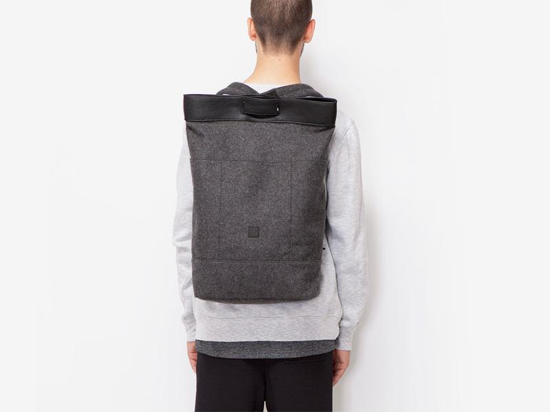 Ucon Acrobatics — plátěný batoh — tmavě šedý — Talib — stylový batoh