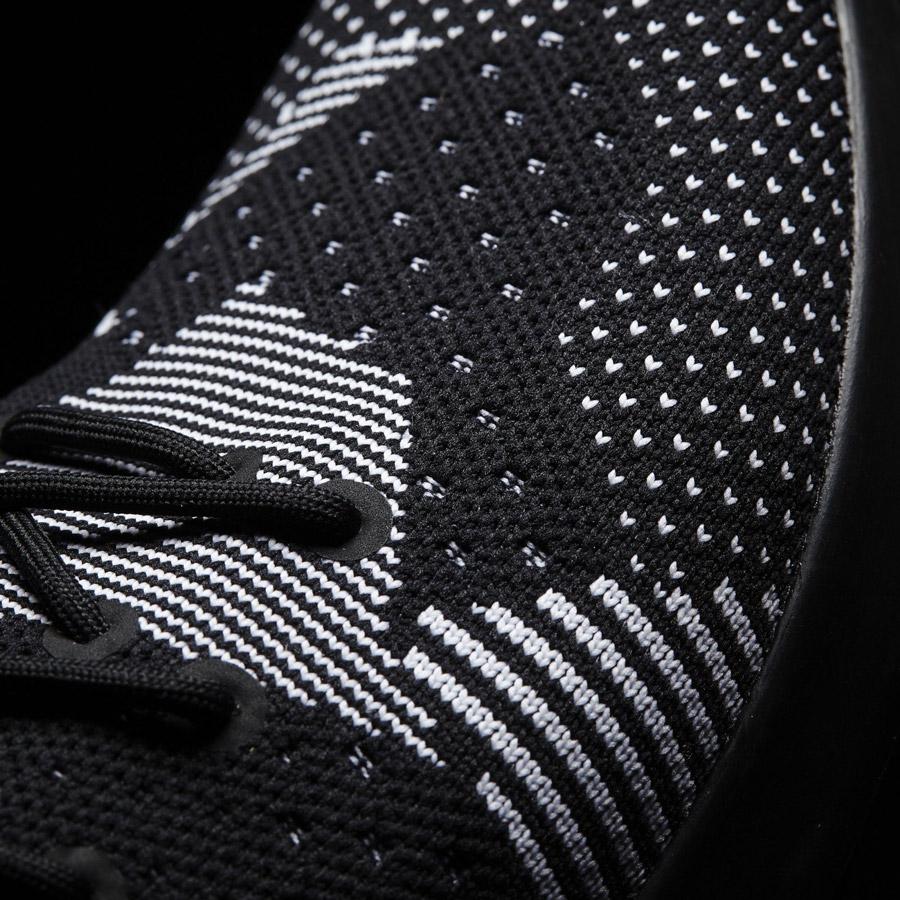 adidas Originals ZX Flux ADV Virtue — dámské boty, tenisky — červené, modré — detail svršku adidas Primeknit