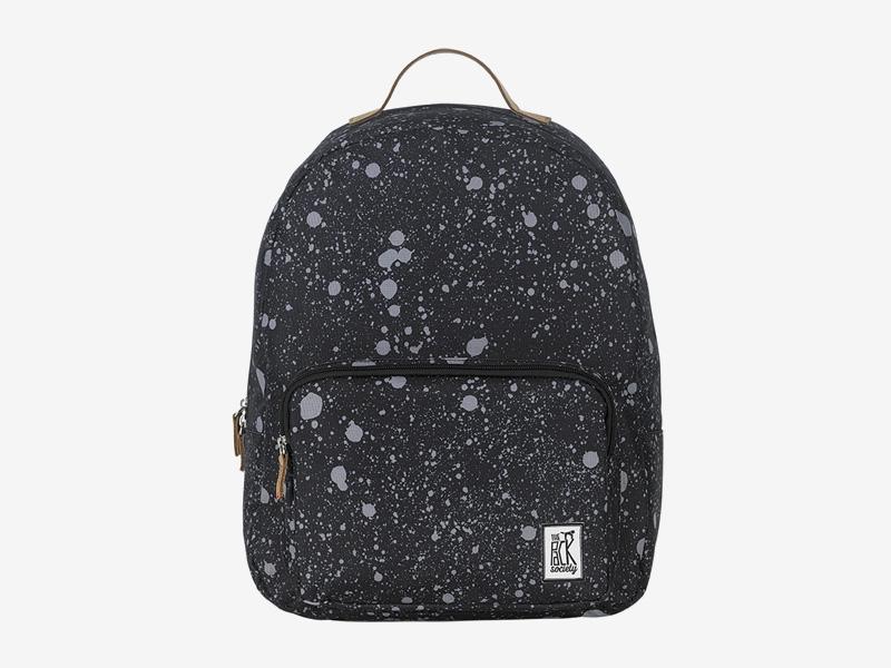 The Pack Society — batoh na záda — černý — šedé skvrny — Classic Backpack — levný batoh
