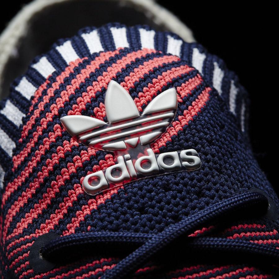 adidas Originals ZX Flux ADV Virtue — dámské boty, tenisky — černé — detail jazyka
