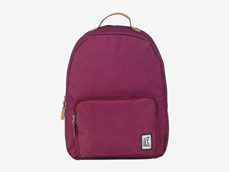 The Pack Society — batoh na záda — vínový, červený — Classic Backpack — levný batoh