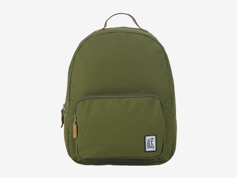 The Pack Society — batoh na záda — zelený — Classic Backpack — levný batoh