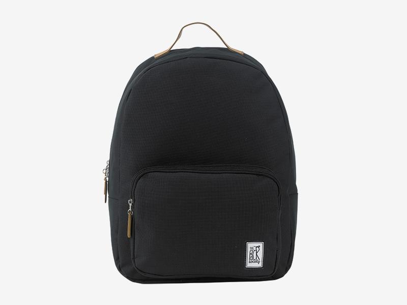The Pack Society — batoh na záda — černý — mřížkový vzor — Classic Backpack — levný batoh