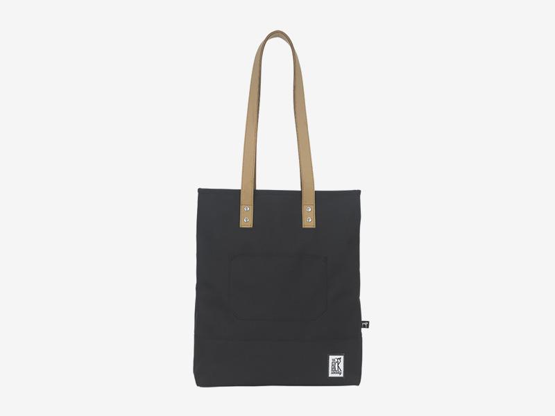 The Pack Society — nákupní taška přes rameno/do ruky — černá — Shopper