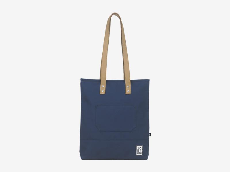 The Pack Society — nákupní taška přes rameno/do ruky — modrá — Shopper