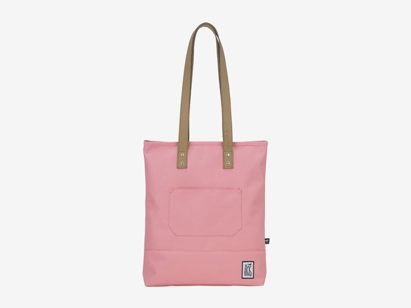 The Pack Society — nákupní taška přes rameno/do ruky — růžová — Shopper