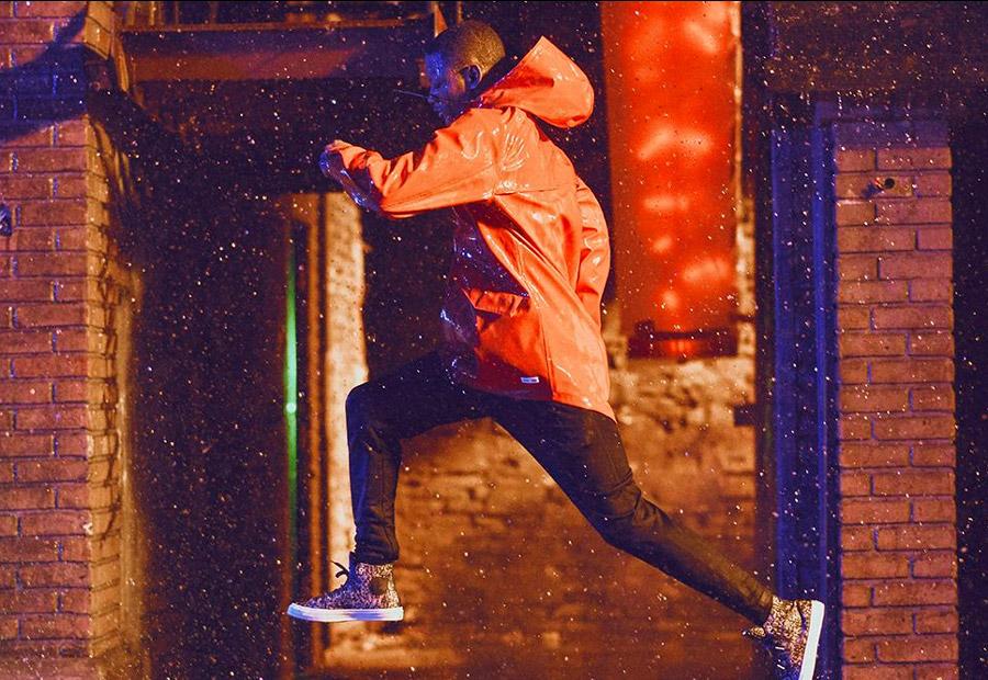 Converse Counter Climate Rubber — nepromokavé oblečení, kotníkové boty, batohy — podzim 2016