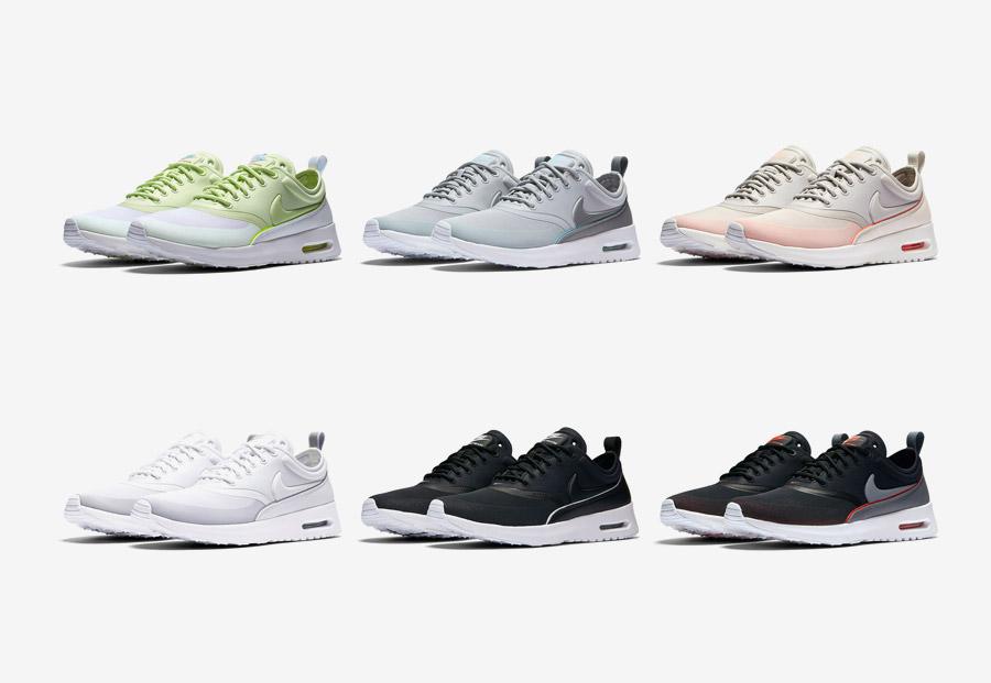 Dámské Nike Air Max Thea Ultra v šesti barevně vyladěných verzích 8d3ddb2369