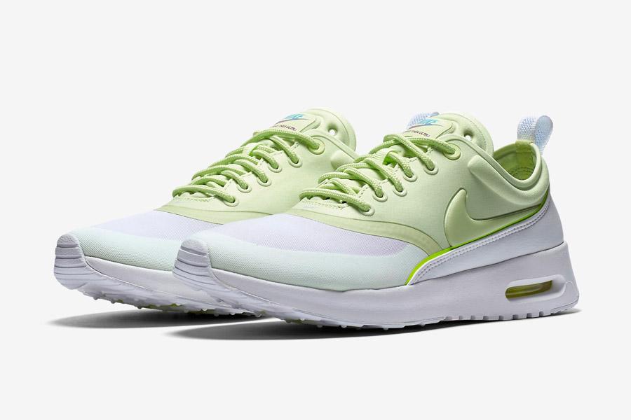 Nike Air Max Thea Ultra — dámské boty — tenisky — sneakers — zelené, bílé