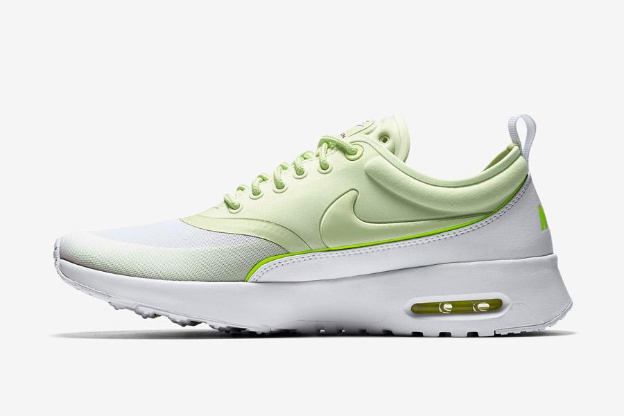 Nike Air Max Thea Ultra — dámské tenisky — boty — sneakers — zelené, bílé