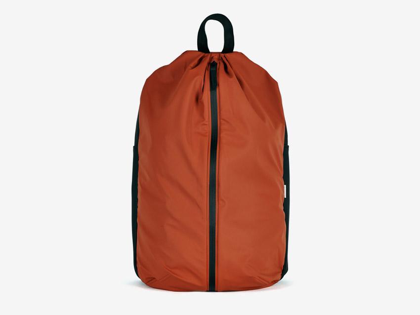 Rains — batoh — nepromokavý, do deště — voděodolný — dámský, pánský, unisex — červený, oranžový