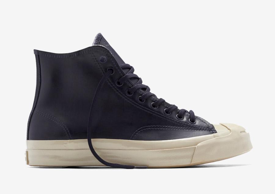 Converse Jack Purcell Signature Rubber — kotníkové boty, tenisky — voděodolné, nepromokavé — pogumované — pánské, dámské — tmavě modré