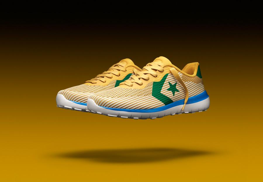 Converse Thunderbolt Modern — tenisky — boty — pánské, dámské — žluté