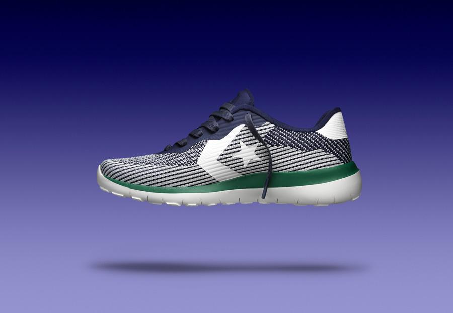 Converse Thunderbolt Modern — boty — tenisky — pánské, dámské — zeleno-modré