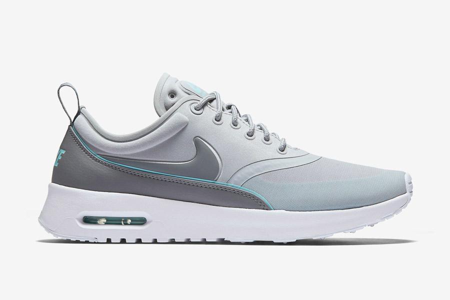 Nike Air Max Thea Ultra — dámské boty — tenisky — sneakers — šedé, modré