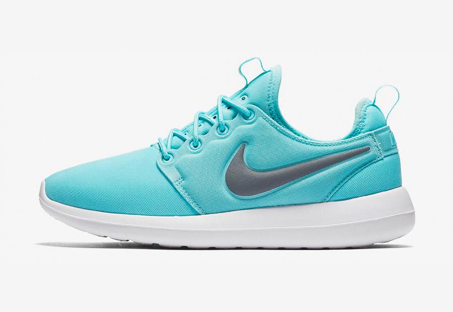 Nike Roshe Two — boty — tenisky — sneakers — dámské — modré, tyrkysové — Nike Roshe Run