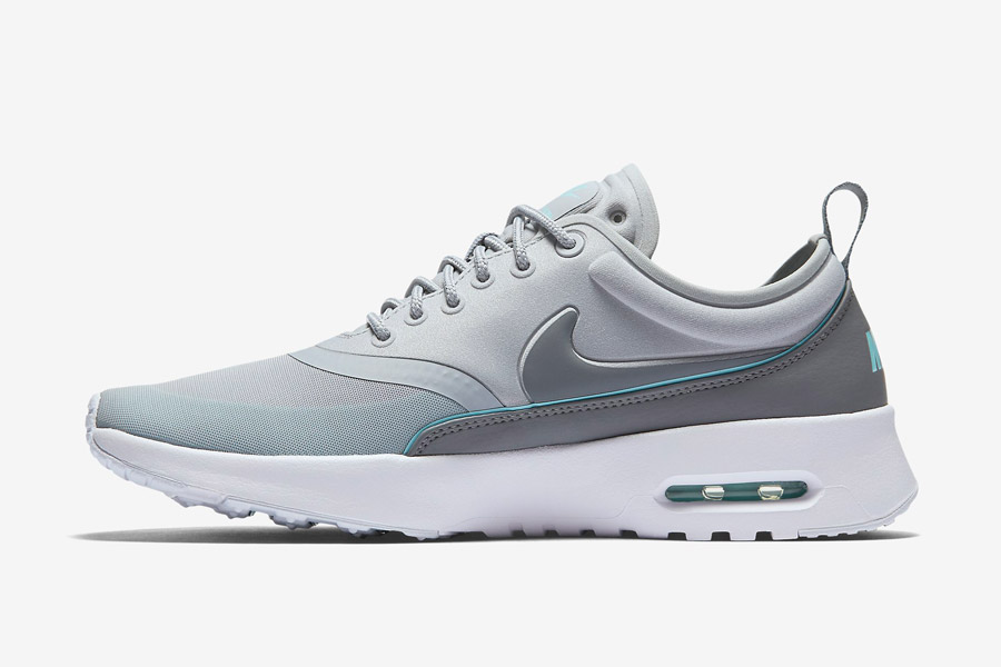 Nike Air Max Thea Ultra — dámské tenisky — boty — sneakers — šedé, modré
