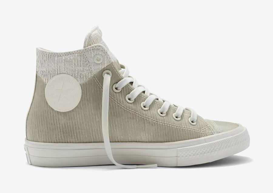 Converse Chuck Taylor All Star II Rubber — kotníkové boty, tenisky — voděodolné, nepromokavé — pogumované — šedé