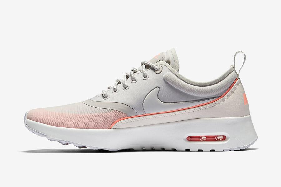 Nike Air Max Thea Ultra — dámské tenisky — boty — sneakers — šedé, oranžové