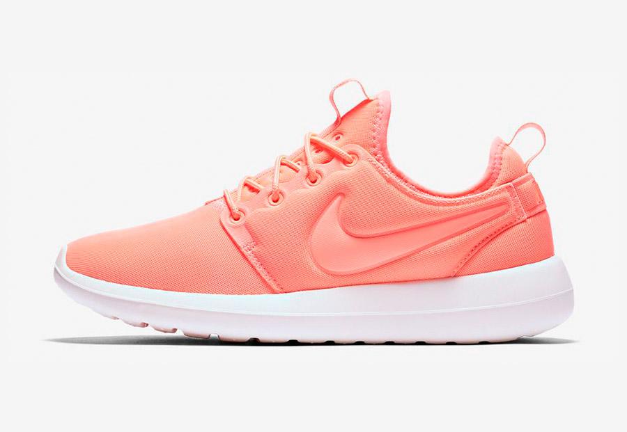 Nike Roshe Two — boty — tenisky — sneakers — dámské — oranžové — Nike Roshe Run