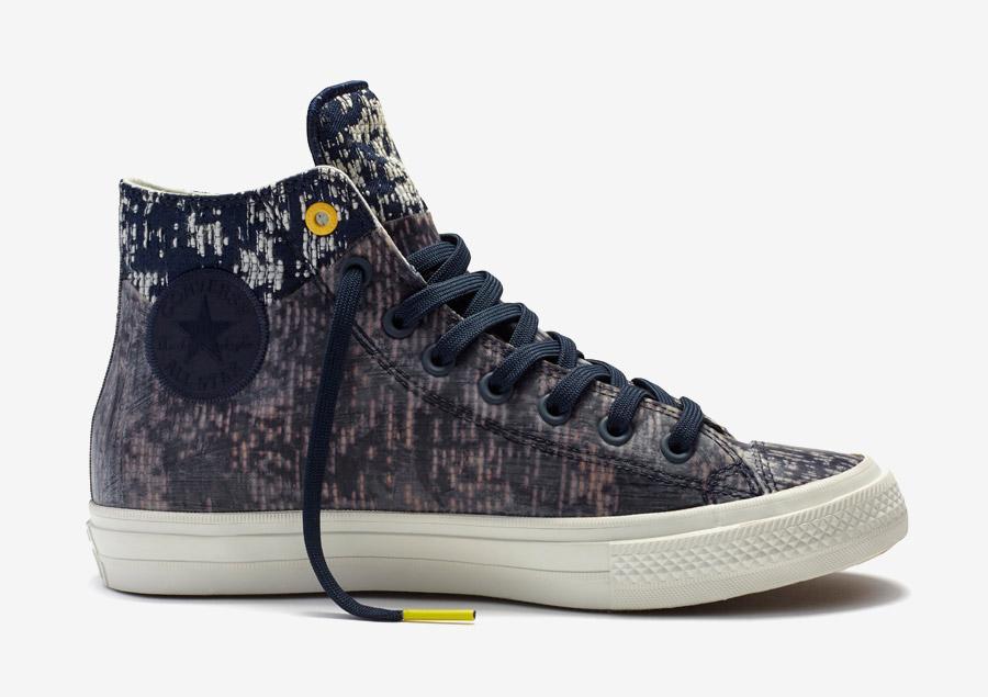 Converse Chuck Taylor All Star II Rubber — kotníkové boty, tenisky — voděodolné, nepromokavé — pogumované — černé, obsidián