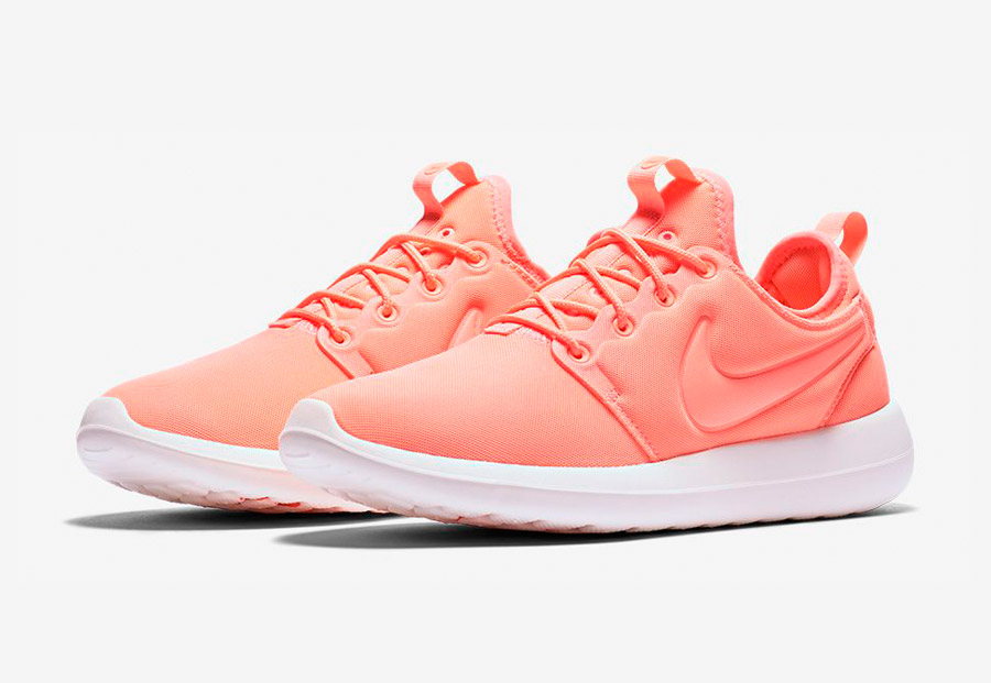 Nike Roshe Two — tenisky — boty — sneakers — dámské — oranžové — Nike Roshe Run
