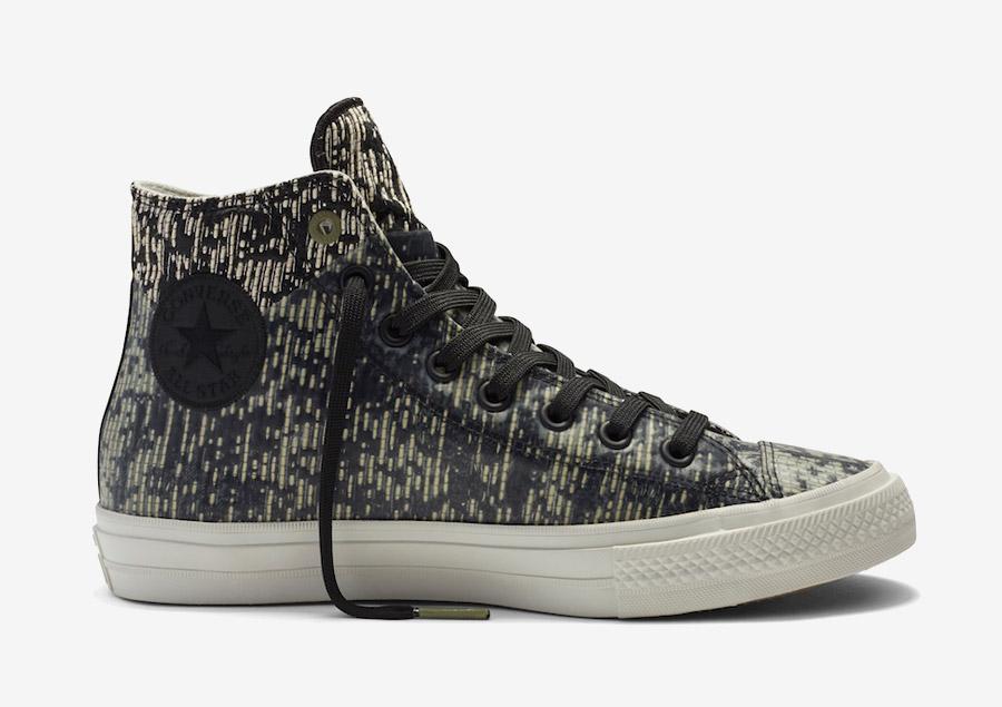 Converse Chuck Taylor All Star II Rubber — kotníkové boty, tenisky — voděodolné, nepromokavé — pogumované — černé