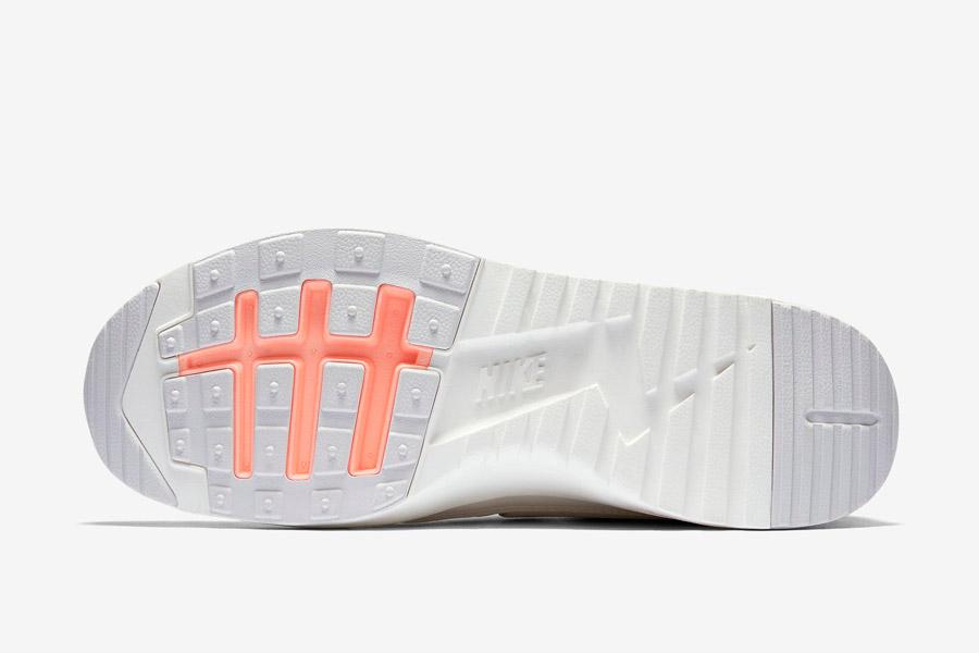 Nike Air Max Thea Ultra — dámské boty — šedé, oranžové