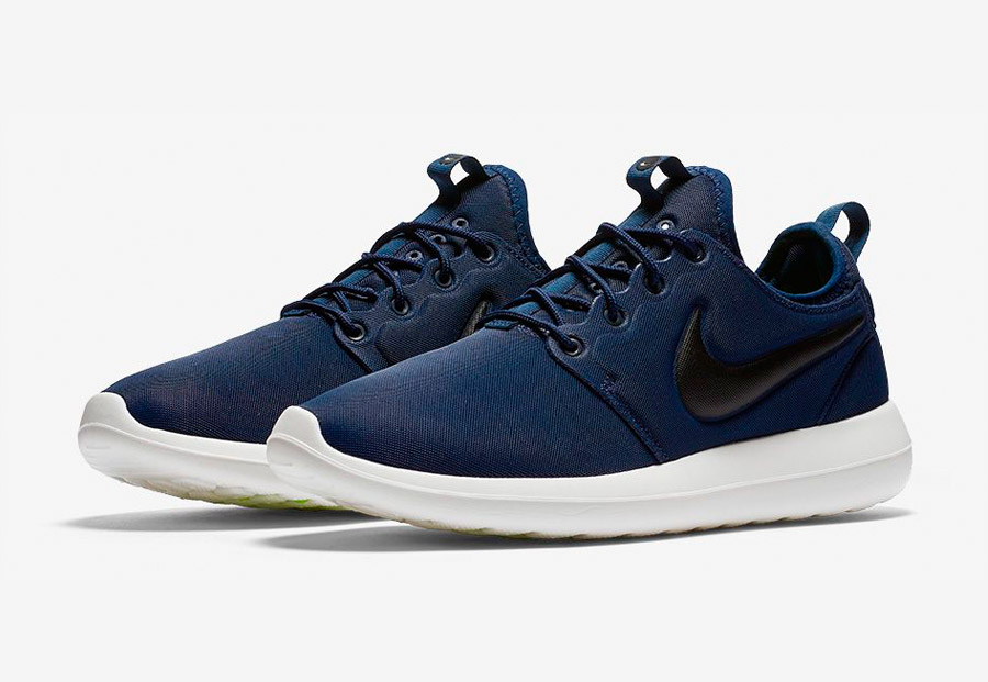 Nike Roshe Two — tenisky — boty — sneakers — pánské — tmavě modré, navy blue — Nike Roshe Run