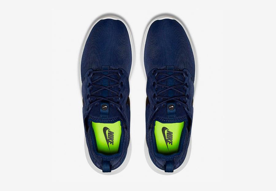 Nike Roshe Two — boty — horní pohled — tmavě modré, navy blue — Nike Roshe Run