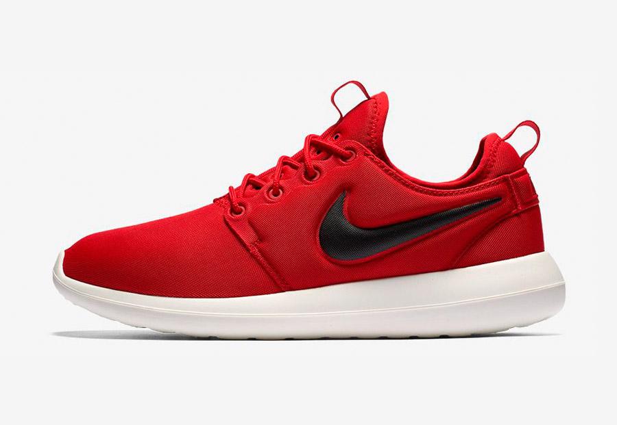 Nike Roshe Two — boty — tenisky — sneakers — pánské — červené — Nike Roshe Run
