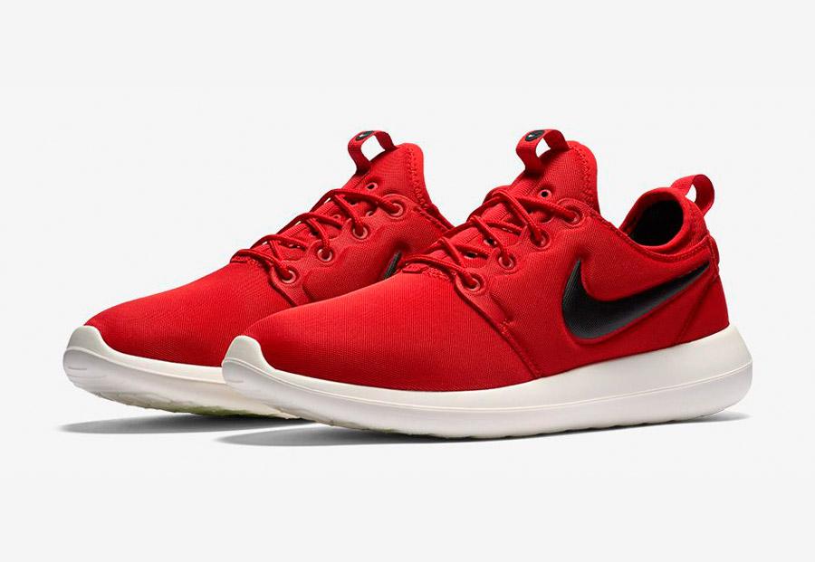 Nike Roshe Two — tenisky — boty — sneakers — pánské — červené — Nike Roshe Run