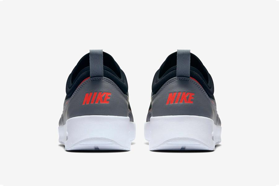 Nike Air Max Thea Ultra — dámské tenisky — boty — sneakers — černé, oranžové a šedé detaily