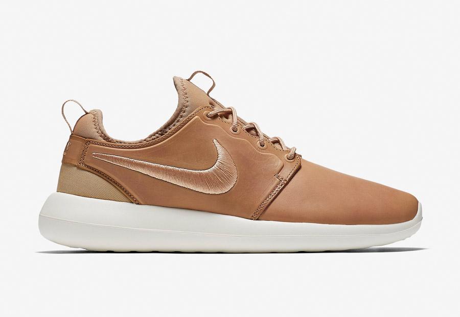 NikeLab Roshe Two Leather — boty — kožené tenisky — sneakers — pánské — Nike Roshe Two
