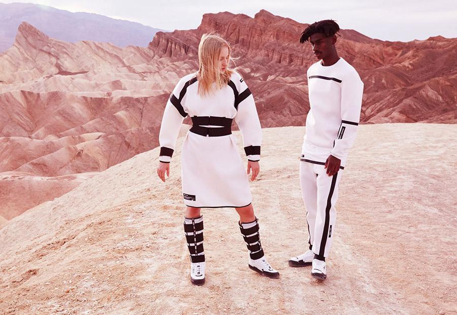 PUMA x UEG — kosmická kolekce oblečení a bot Gravity Resistance