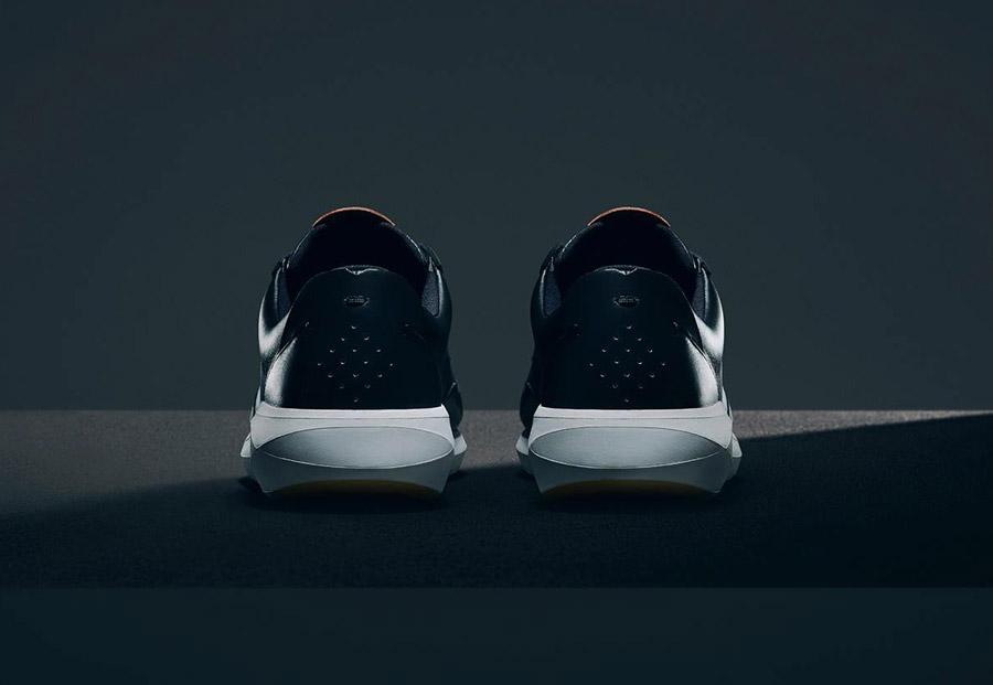 Boxfresh — Rily — futuristické tenisky — kožené — boty, sneakers — černé — pánské