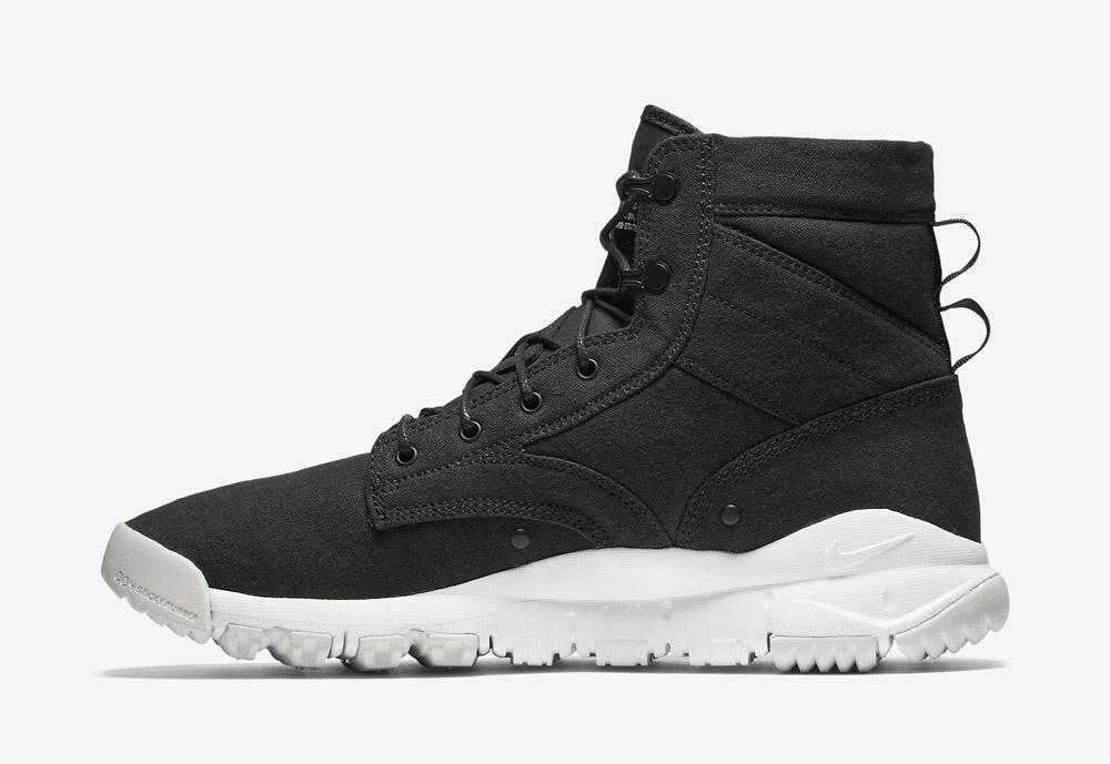 """Nike SFB Field 6"""" Canvas — vysoké kotníkové boty — zimní, podzimní — pánské — černé"""