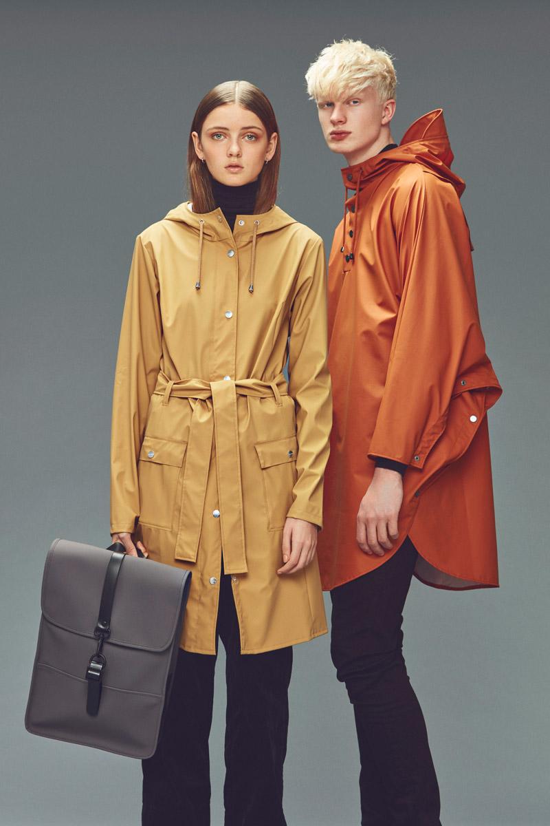 Rains — pláště do deště — pršipláště s kapucí — pláštěnky — dámské, pánské — podzim/zima 2016 — lookbook