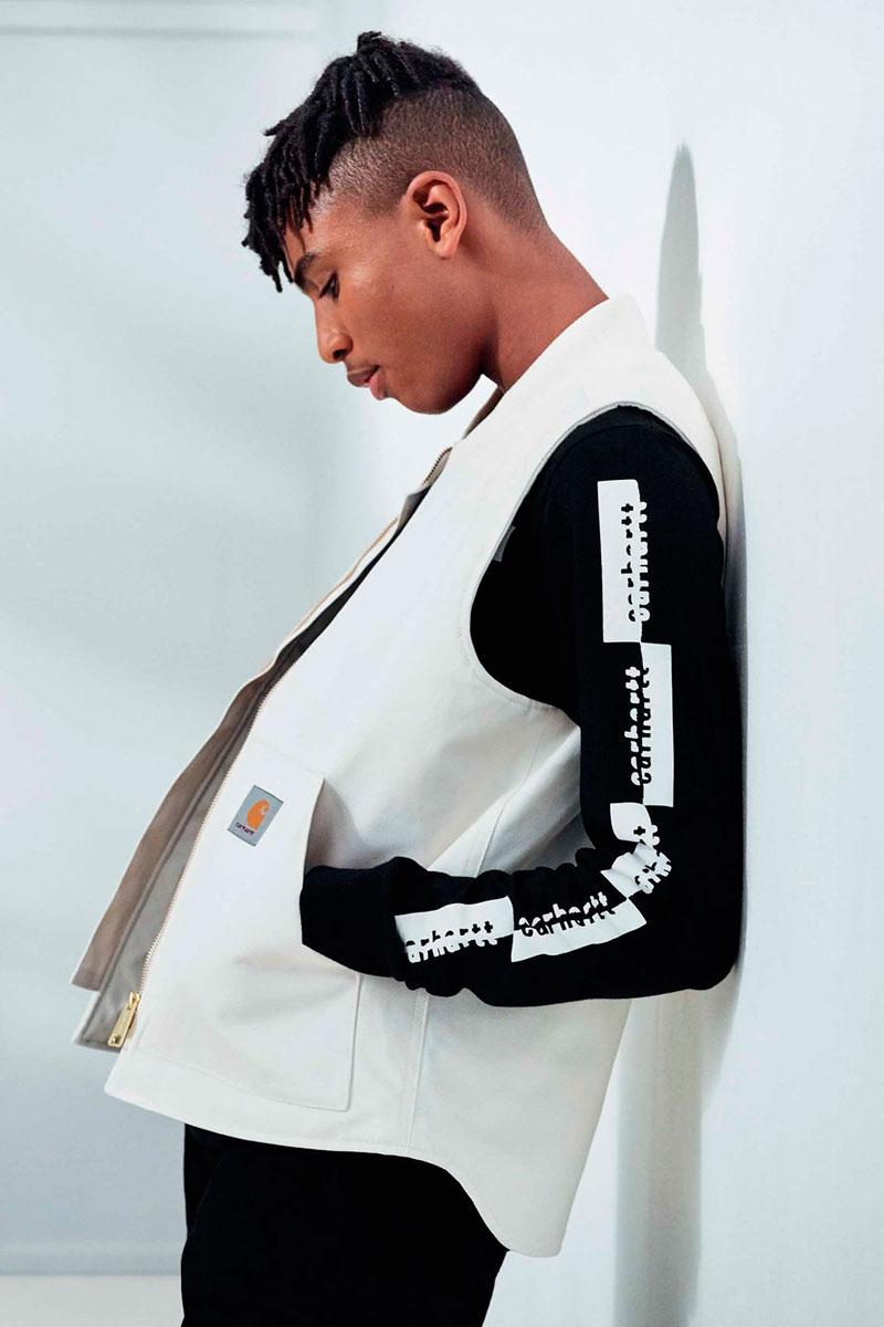 Carhartt WIP — bílá vesta — pánská
