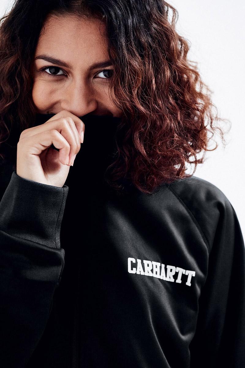 Carhartt WIP — černá mikina — bunda — dámská