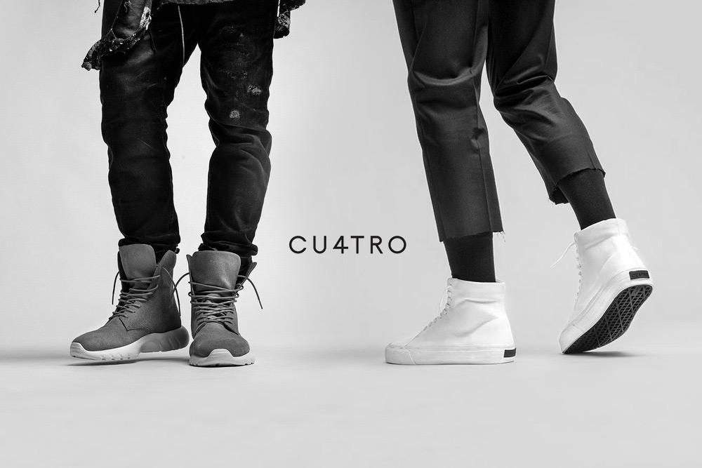 CU4TRO — pánské — kotníkové boty — Ninja — Norris — vysoké sneakers — lookbook
