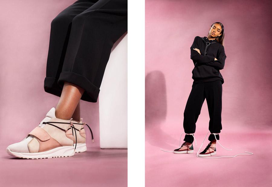 Filling Pieces — dámské kotníkové boty bez tkaniček — luxusní — futuristické