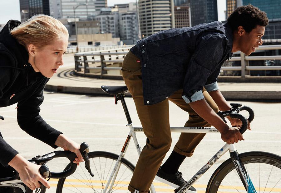 Levi's Commuter — oblečení pro městské cyklisty — podzim 2016