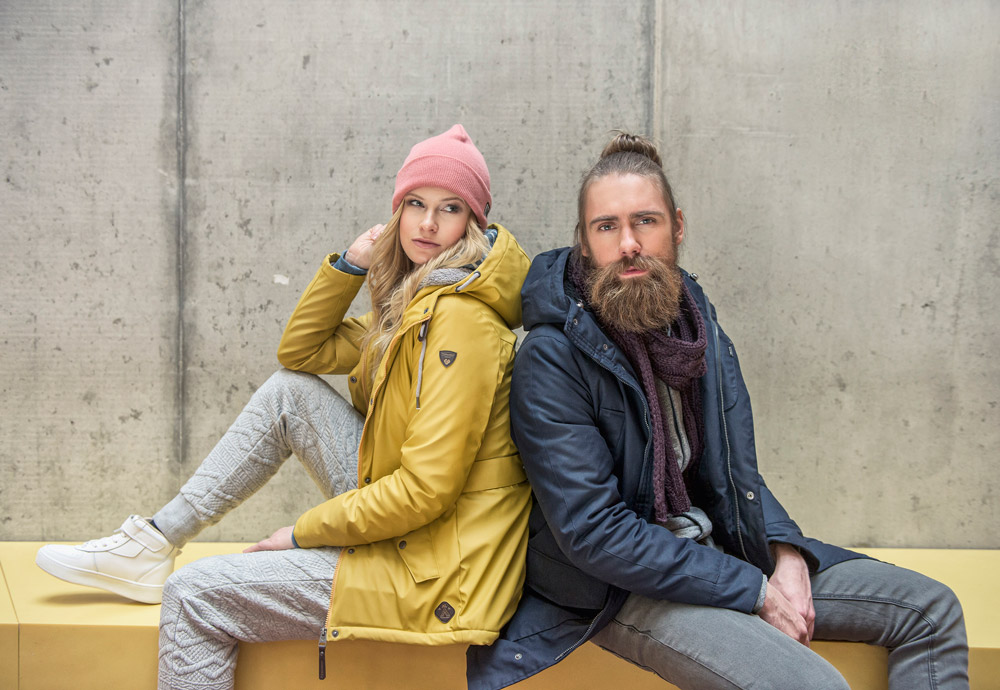 Zimní bundy a mikiny Ragwear — dámské, pánské — lookbook 2016