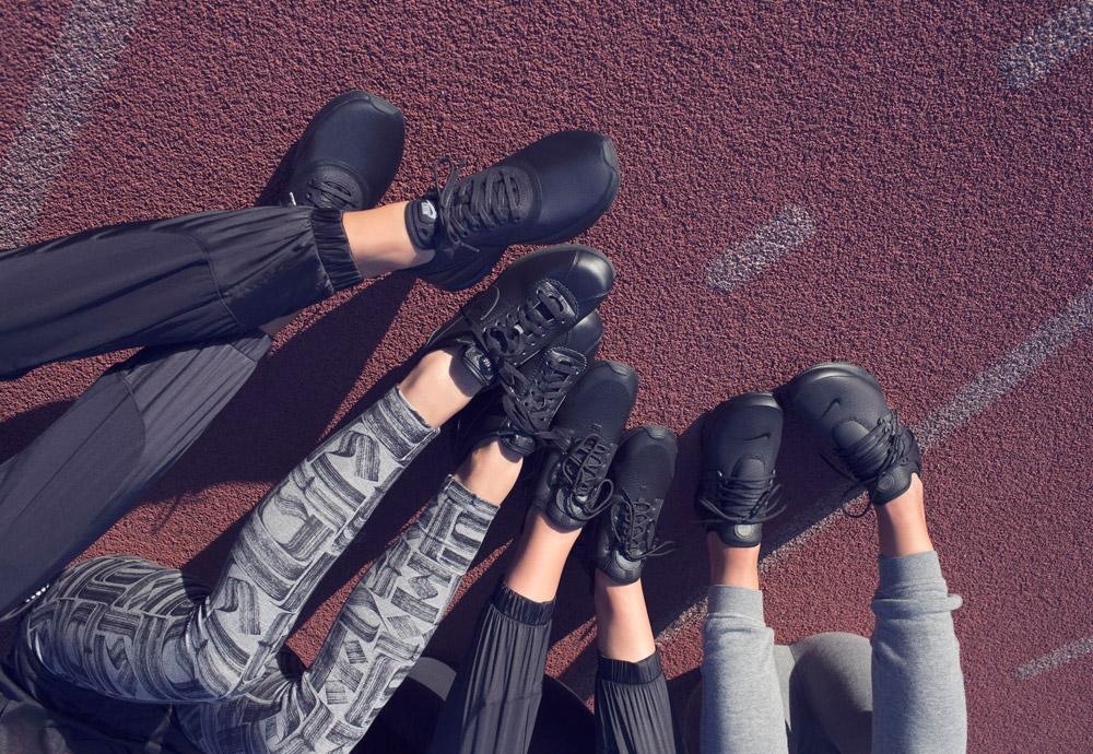 Nike Beautiful x Powerful Collection — dámské černé boty — tenisky — sneakers