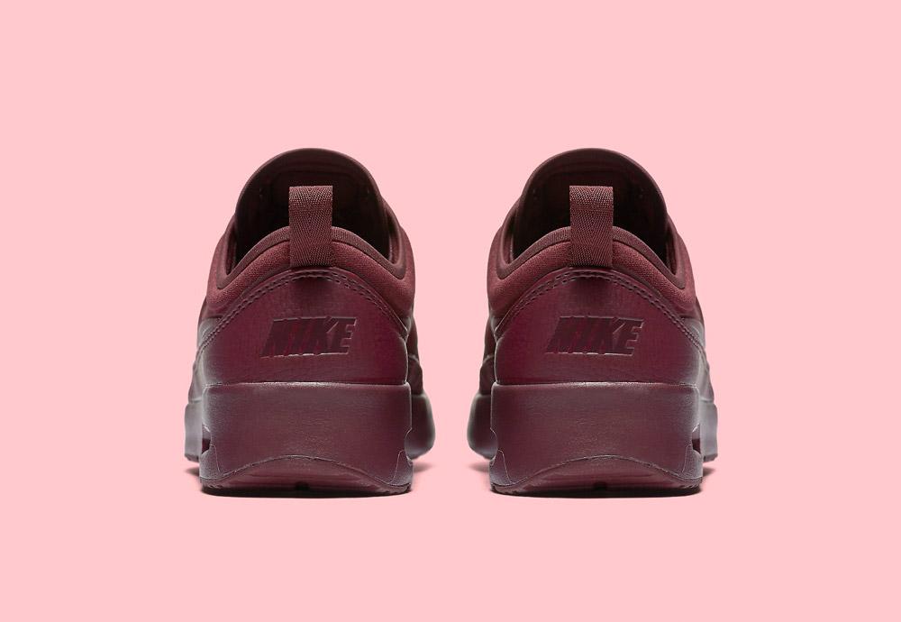 Nike Air Max Thea Ultra Premium — dámské boty — tenisky — sneakers — zadní pohled