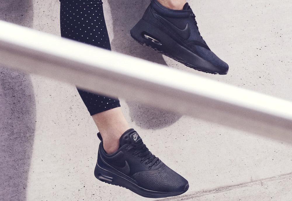 Nike Beautiful x Powerful Collection — Nike Air Max Thea Ultra Premium — dámské boty — tenisky — sneakers — černé